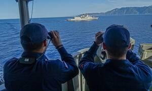 Κινητικότητα του τουρκικού στόλου κοντά σε Ρόδο και Κρήτη – Πώς απάντησε το Πολεμικό Ναυτικό