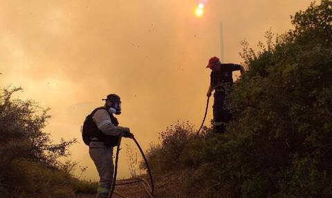 Φωτιά Ζάκυνθος: Υπό μερικό έλεγχο η πυρκαγιά στο Καλαμάκι