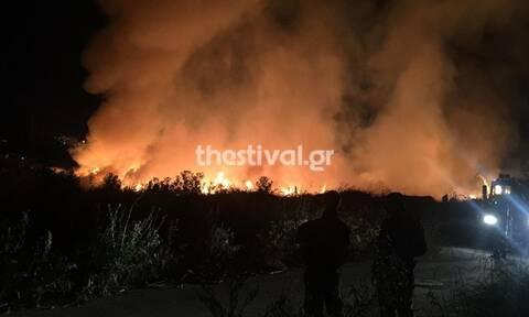 Φωτιά Τώρα: Μεγάλη κινητοποίηση της Πυροσβεστικής για πυρκαγιά στη ΒΙΠΕΘ