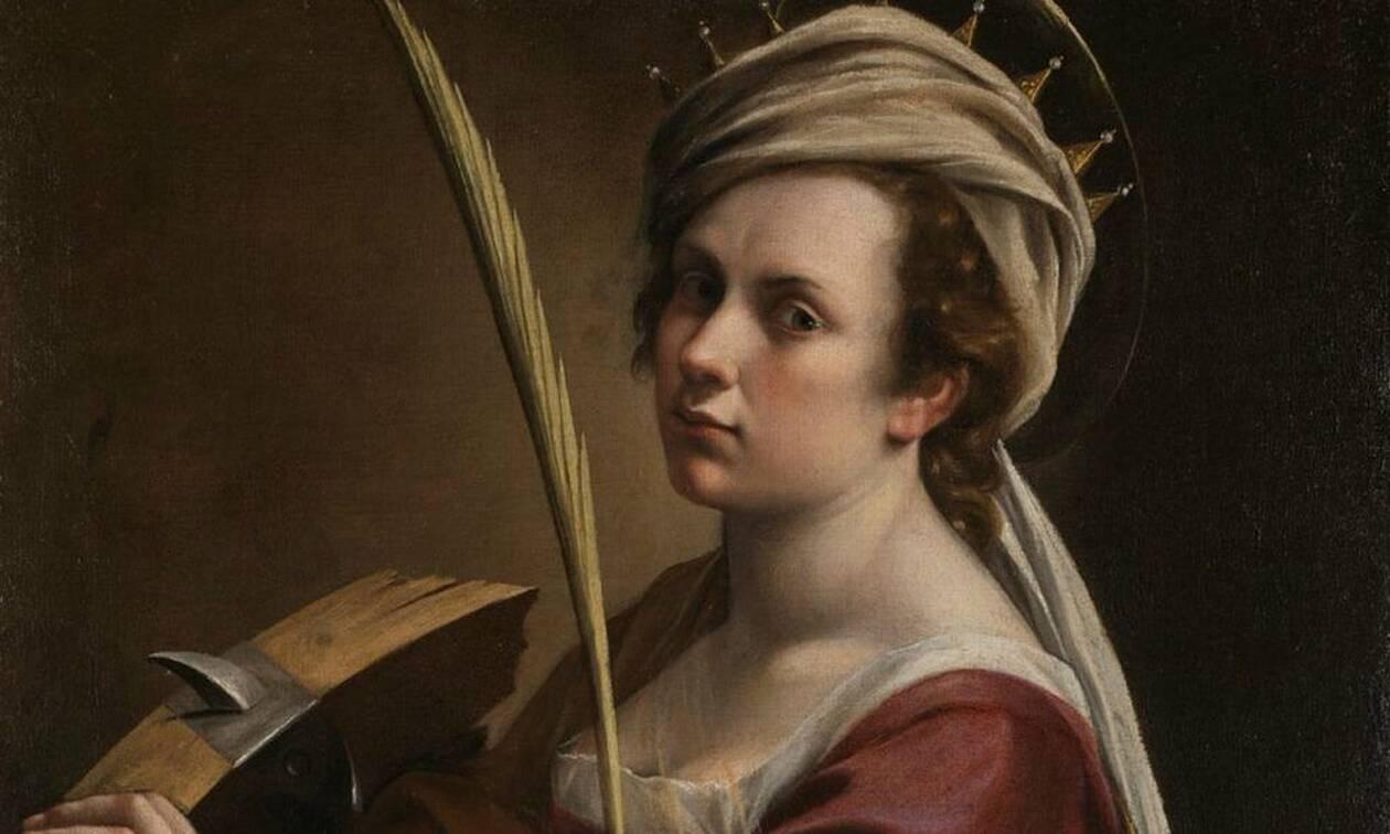 Αρτεμίζια Τζεντιλέσκι: 427 χρόνια από τη γέννηση της Ιταλίδας ζωγράφου