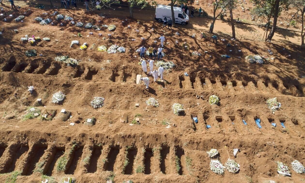 Κορονοϊός στη Βραζιλία: 1.254 θάνατοι νέοι θάνατοι σε 24 ώρες