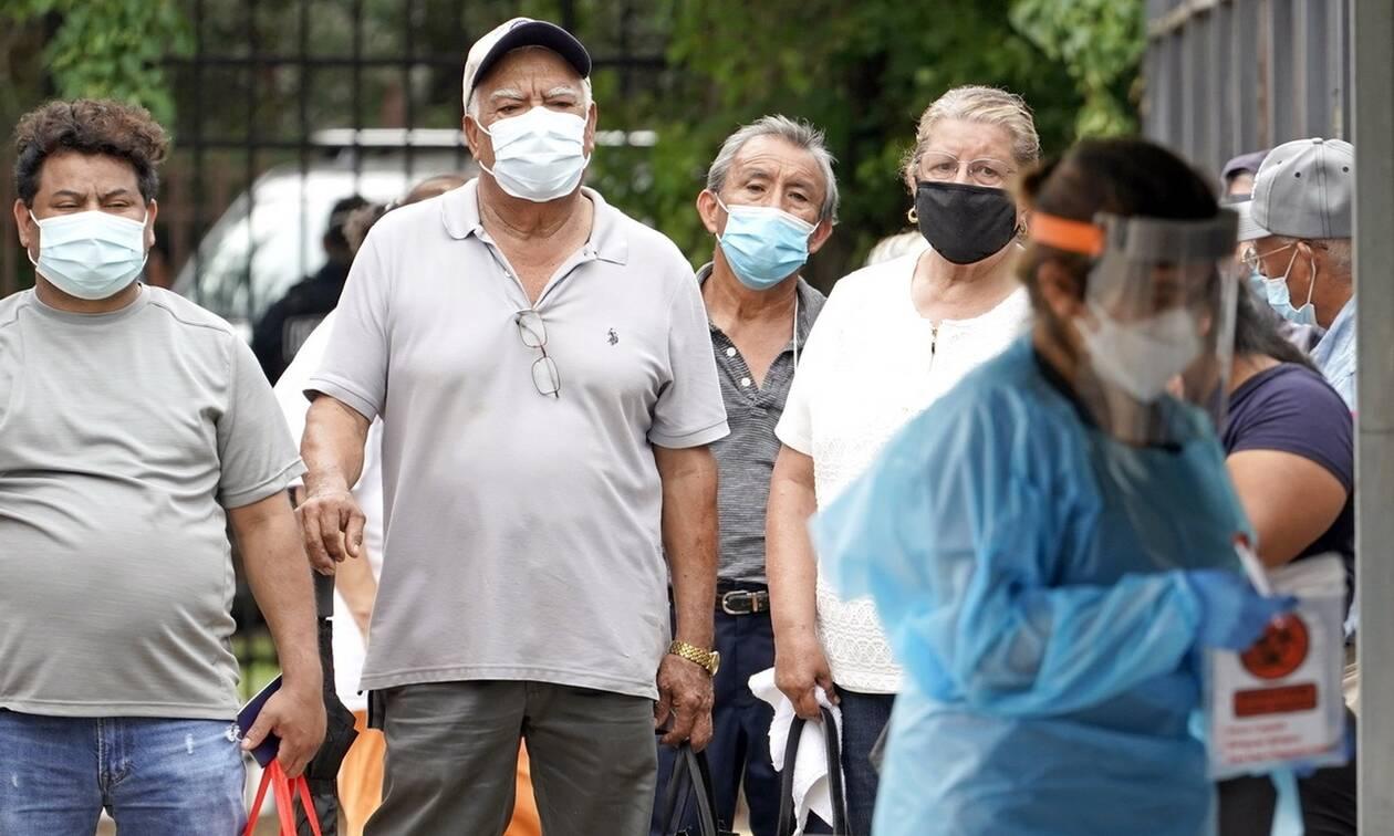 Κορονοϊός στις ΗΠΑ: Θλιβερό ρεκόρ στο Τέξας - Πάνω από 10.000 κρούσματα σε 24 ώρες