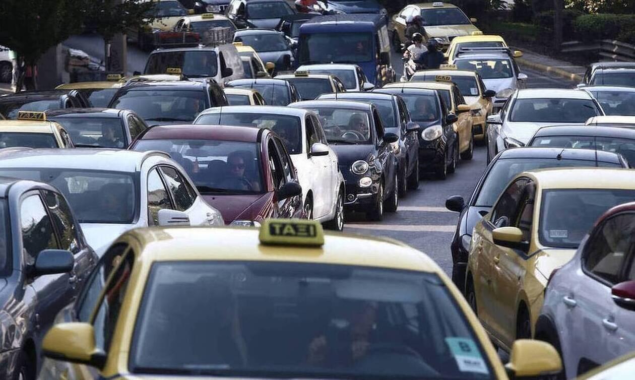 Κίνηση: Τροχαίο ατύχημα στην Κηφισίας - Λεωφορείο συγκρούστηκε με ΙΧ