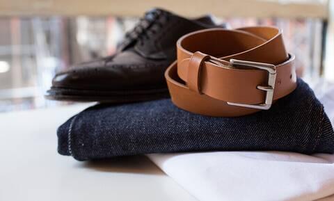 Αντρικό στυλ: Πώς πρέπει να συνδυάσεις τη ζώνη με τα παπούτσια