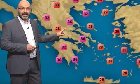 Προσοχή! Η μακροπρόθεσμη ανάλυση του Αρναούτογλου για τον καιρό μέχρι 21 Ιουλίου