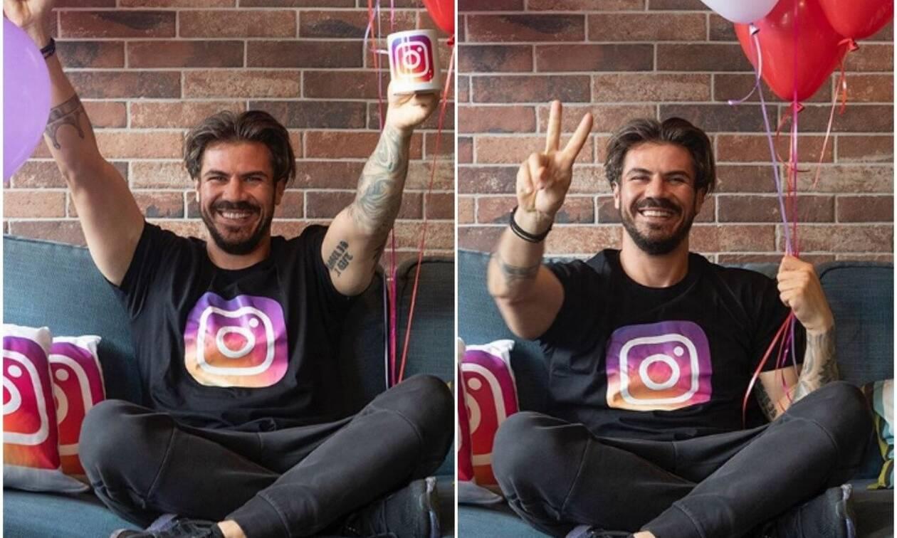 Ακης Πετρετζίκης: Έφτασε τους 1,5 εκατ. followers στο Instagram και το γιορτάζει!