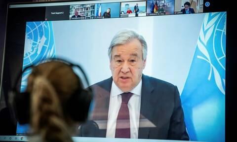 Λιβύη: «Ξένη ανάμιξη σε πρωτοφανή επίπεδα» καταγγέλει ο Γκουτέρες