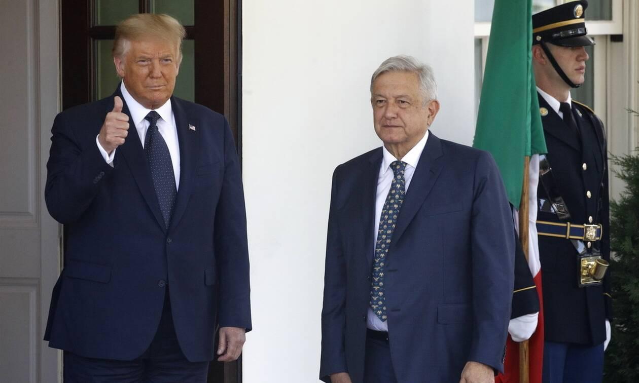 Τραμπ: Οι σχέσεις ΗΠΑ - Μεξικού δεν ήταν ποτέ τόσο καλές όσο είναι τώρα