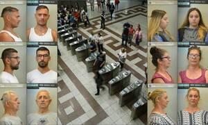 Η συμμορία των… πορτοφολάδων - Αυτοί ξάφριζαν ανυποψίαστους επιβάτες στην Αθήνα