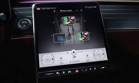 Tο σαλόνι της νέας Mercedes S-Class θα έχει πέντε οθόνες!