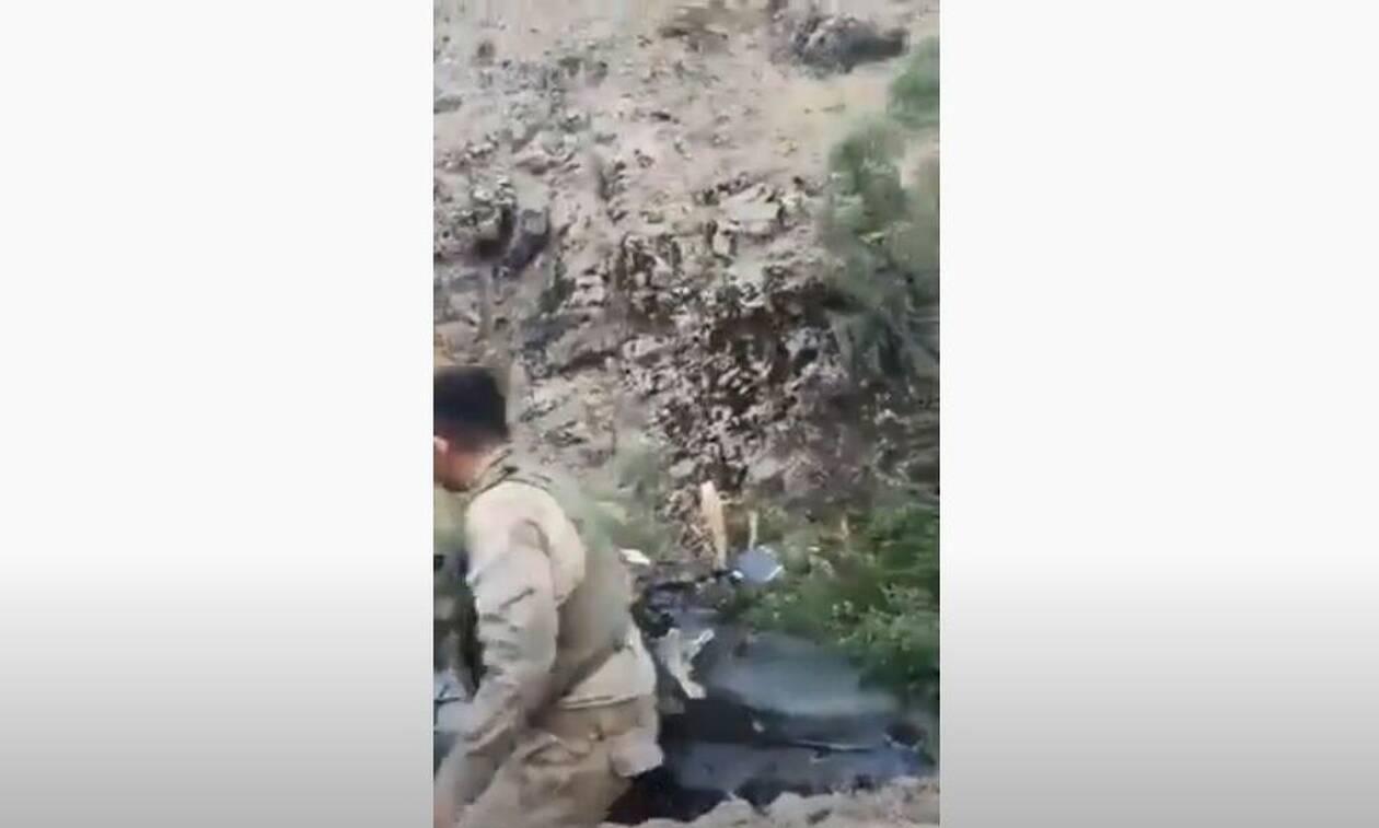 Κούρδοι κατέρριψαν τουρκικό ελικόπτερο (video)