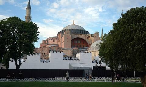 Reuters: Την Παρασκευή η απόφαση για την Αγιά Σοφιά - Πώς θα μετατραπεί σε τζαμί