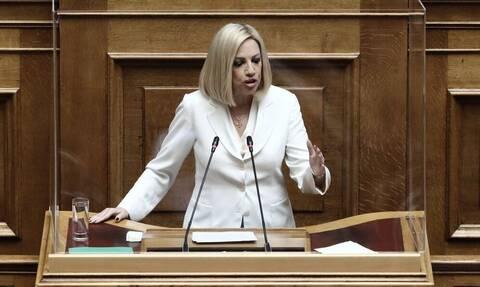 Φώγη Γεννηματά: «Θα σας πω εγώ τι είναι ντροπή κ. Τσίπρα»