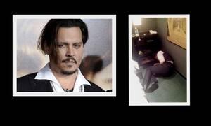 Οι εικόνες σοκάρουν! Ο Johnny Depp «λιώμα» από τα ναρκωτικά στο πάτωμα