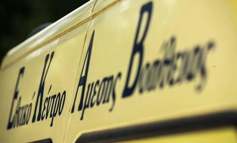 Κρήτη: Άνδρας συνεθλίβη από φορτηγό και στύλο της ΔΕΗ