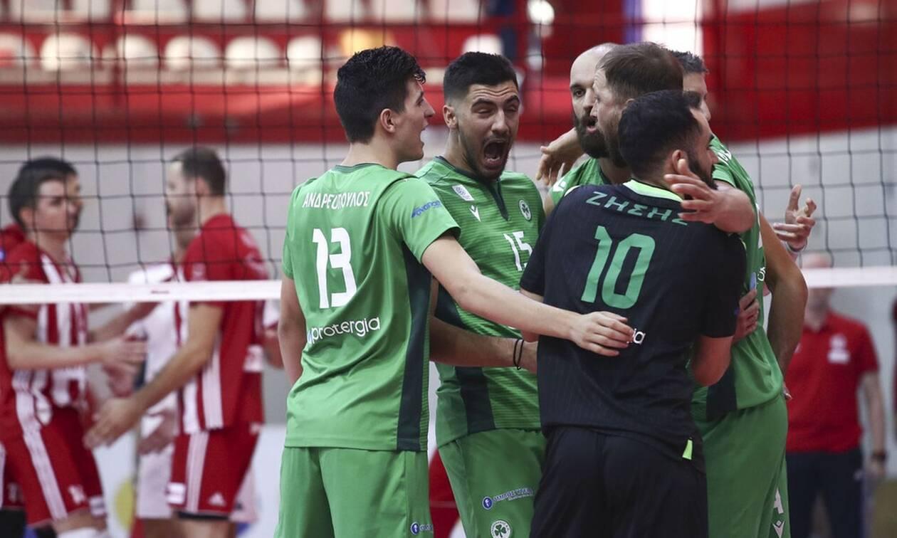 Ολυμπιακός - Παναθηναϊκός 0-3: Κυριαρχική εμφάνιση και προβάδισμα τίτλου!