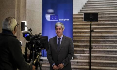 Ο Σεντένο αποχαιρετά το Eurogroup και δηλώνει πως «η αβεβαιότητα παραμένει ψηλά»