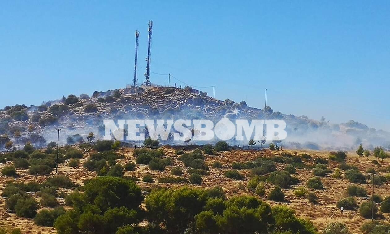 Φωτιά ΤΩΡΑ στη Βάρη - Εκκενώθηκαν τα Παιδικά χωριά SOS
