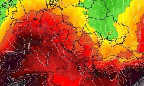 Καιρός: Τι δείχνει η μακροπρόθεσμη τάση για τις θερμοκρασίες...