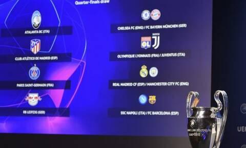LIVE CHAT η κλήρωση του Champions League