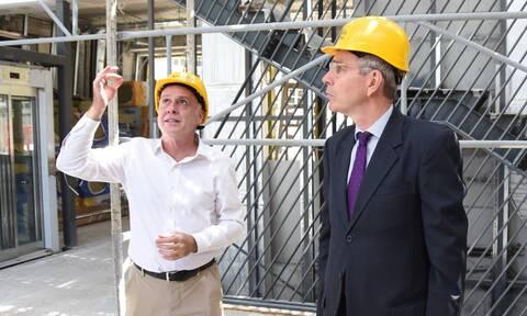 Επίσκεψη του Αμερικανού Πρέσβη στο «Anna Papageorgiou STEM Center» που κατασκευάζει η ΕΛΛΑΚΤΩΡ