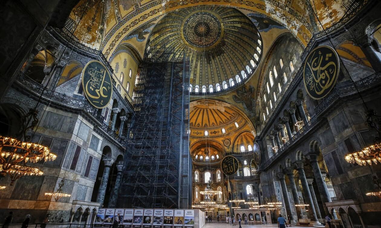 Αγία Σοφία: Προκαλεί μέσω twitter το τουρκικό υπουργείο Πολιτισμού