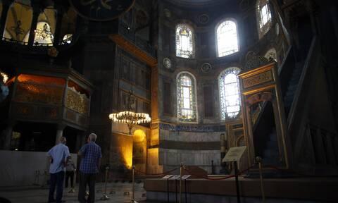 Αγία Σοφία: Η αντίδραση του Πούτιν μετά τη μετατροπή του ναού σε τζαμί