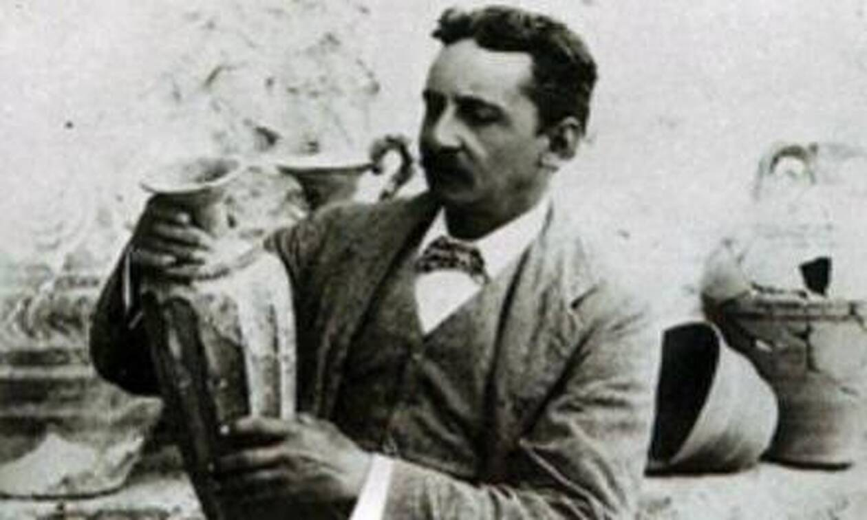Σαν σήμερα το 1900 ο Αρθουρ Εβανς ξεκινά τη μυθική ανασκαφή στην Κνωσό