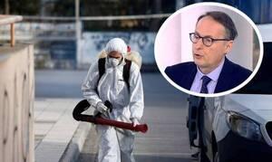 Κορονοϊός - Σύψας: Κινδυνεύει η Ελλάδα από την «πυρκαγιά» της πανδημίας στα Βαλκάνια