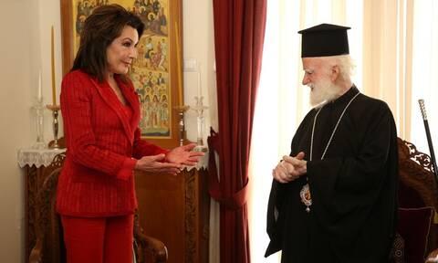 """Γιάννα Αγγελοπούλου: """"Θλίψη και οργή"""" για την μετατροπή της Αγίας Σοφίας σε τζαμί"""