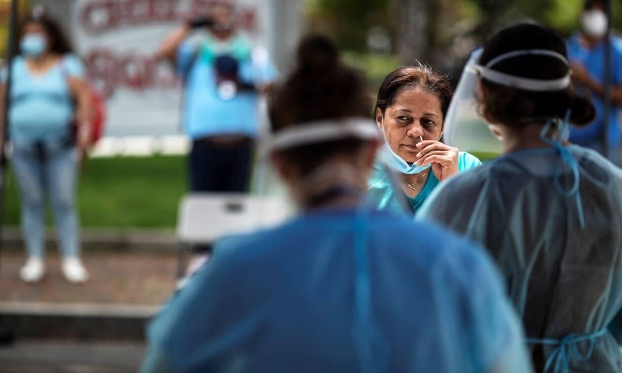 Κορονοϊός - ΗΠΑ: Νέο θλιβερό ρεκόρ κρουσμάτων για 3η συναπτή ημέρα