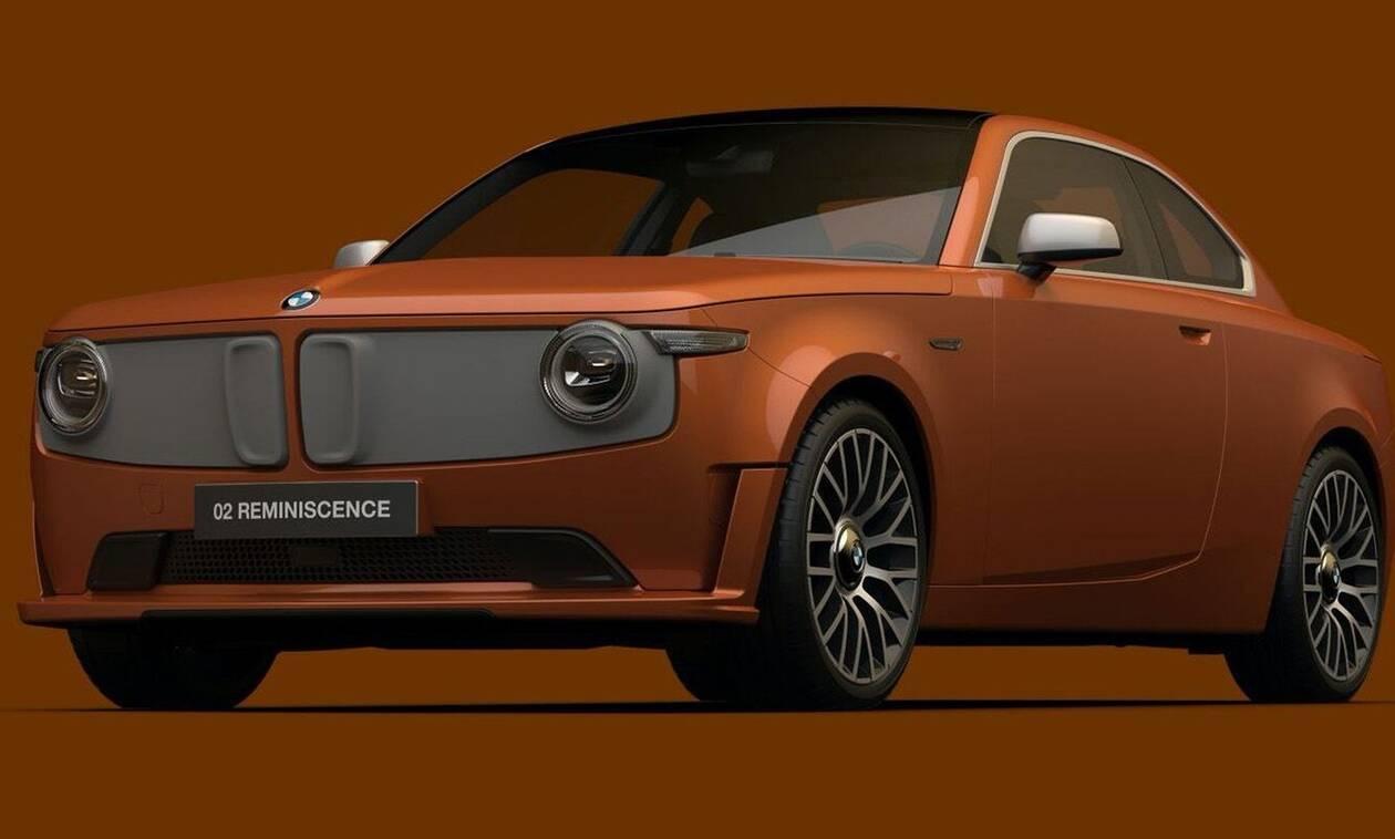 Πώς θα σας φαινόταν μία ηλεκτρική αναβίωση της BMW 1602;