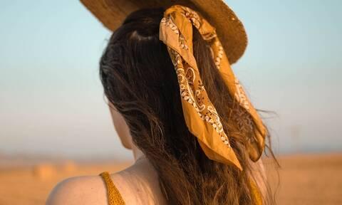 Έξυπνοι τρόποι για να φορέσετε το μαντήλι στα μαλλιά (pics+vid)
