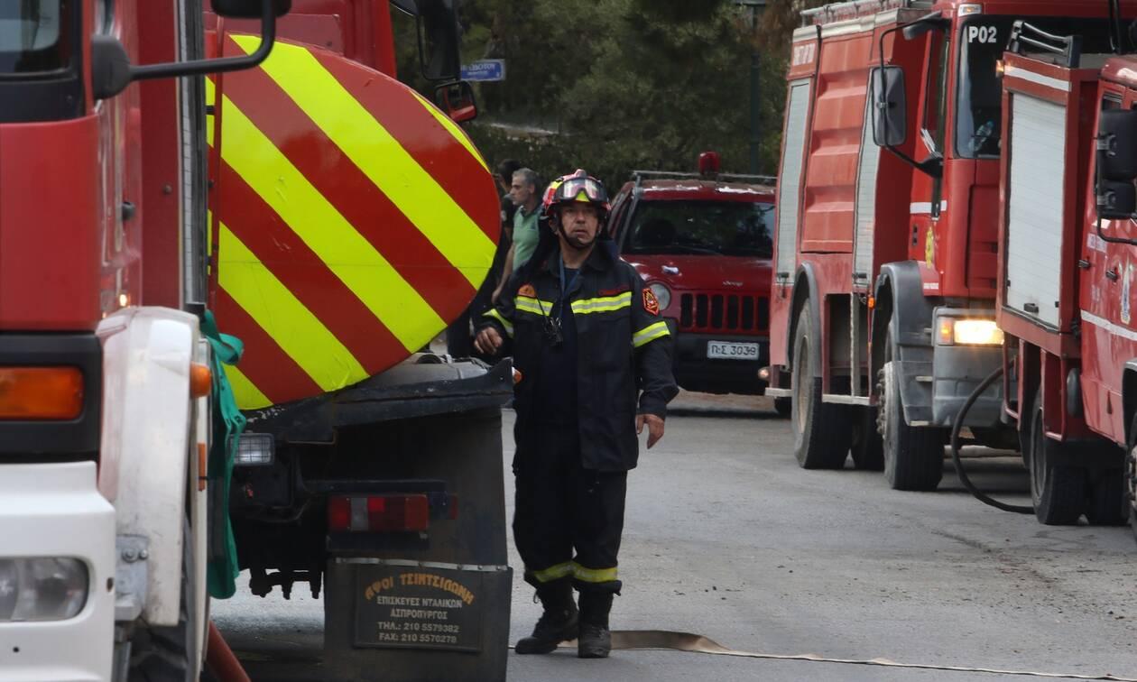 Συναγερμός στην Αγία Παρασκευή: Διαρροή φυσικού αερίου - Κλειστοί δρόμοι