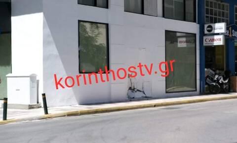 Κόρινθος: Έκανε όπισθεν και παραλίγο να εισβάλλει σε κτήριο