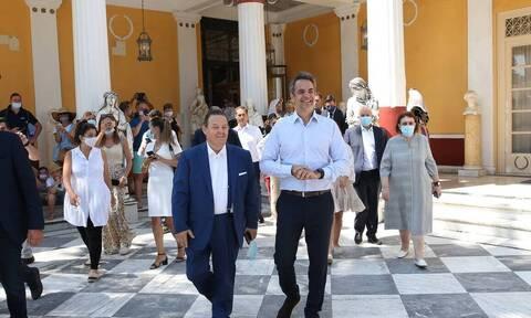 Κέρκυρα-Μητσοτάκης: «Προτεραιότητα είναι η προσέλκυση ξένων επενδύσεων»