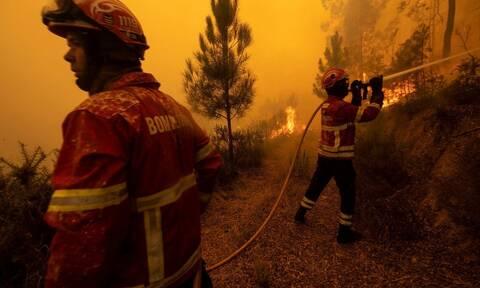 Πορτογαλία: Νεκρό στέλεχος του πυροσβεστικού σώματος σε δασική πυρκαγιά