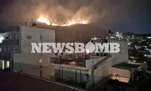 Φωτιά στο Πέραμα: Μια σύλληψη για εμπρησμό από αμέλεια