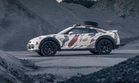 Ολλανδοί μετέτρεψαν το Nissan GT-R σε όχημα εκτός δρόμου