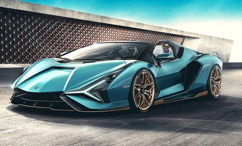 Aυτή είναι η super σπάνια Lamborghini Sian Roadster των 3,5 εκατομμυρίων ευρώ