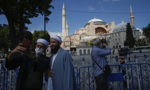 Αγία Σοφία: Εκλεισε για τους επισκέπτες - «Λουκέτο» μέχρι να γίνει τζαμί
