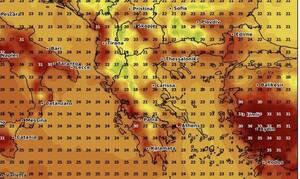Προσοχή! Αλλάζει ο καιρός; πέφτει η θερμοκρασία. Καρέ καρέ η εξέλιξη (Photos)