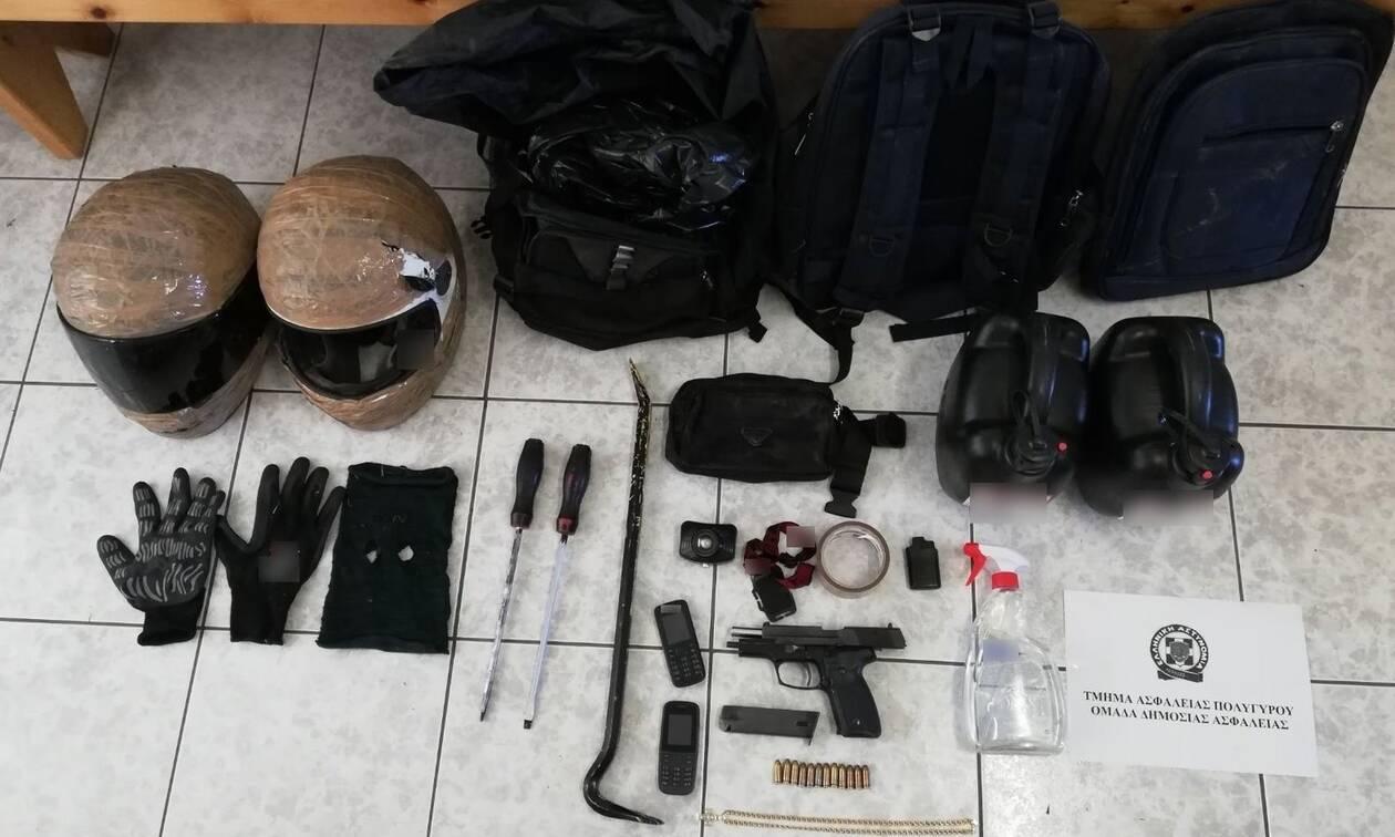 Θεσσαλονίκη: Συμμορία επιχείρησε να ανατινάξει τέσσερα ΑΤΜ (pics)