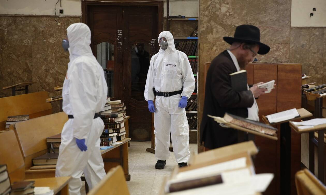 Κορονοϊός στο Ισραήλ: Οκτώ νεκροί και 1.207 νέα κρούσματα μόλυνσης σε 24 ώρες