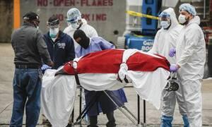 Κορονοϊός στις ΗΠΑ: 442 θάνατοι και 59.747 κρούσματα μόλυνσης σε 24 ώρες