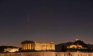 Κομήτης NEOWISE: Πέρασε πάνω από την Ελλάδα - Εντυπωσιακές εικόνες