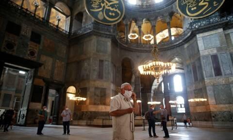 Αγιά Σοφία: Η Ρωσία νίπτει τας χείρας της - «Εσωτερική υπόθεση της Τουρκίας»