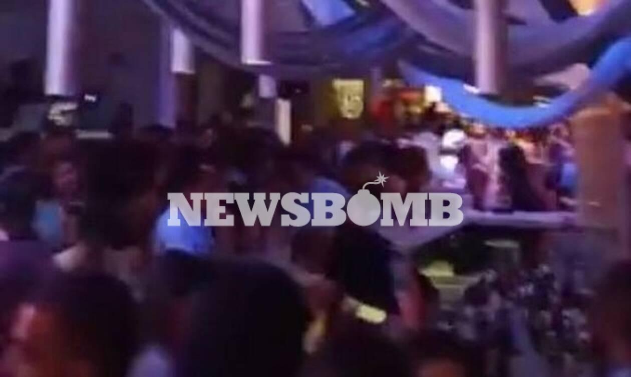 Ρεπορτάζ Newsbomb.gr: Χαμός από τον συνωστισμό σε κλαμπ στην Εύβοια