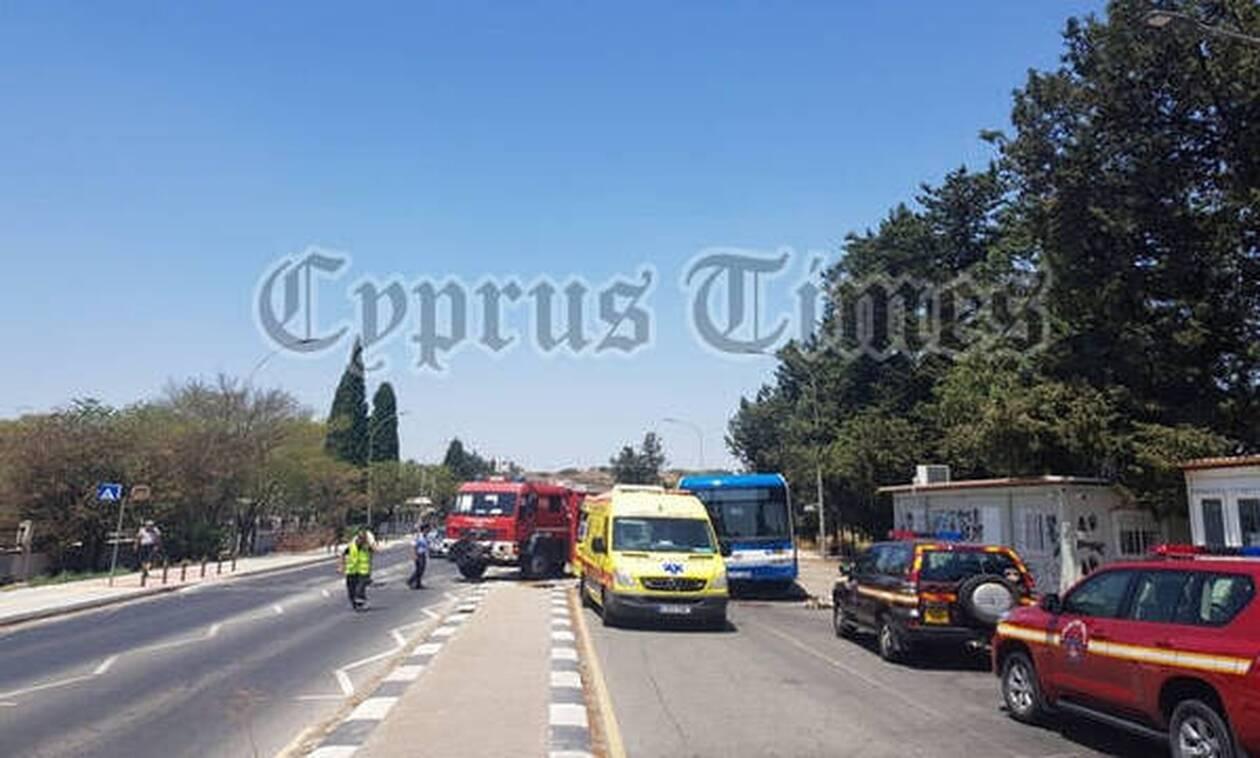 Τραγωδία στην Κύπρο: Νεκρός οδηγός λεωφορείου