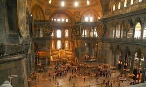 Αγία Σοφία: Ανατριχίλα - Έτσι ακούγονταν οι ψαλμωδίες μέσα στο ναό (vid)